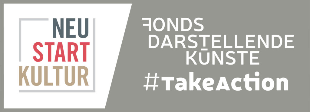 Logo Neustart Kultur #TakeAction